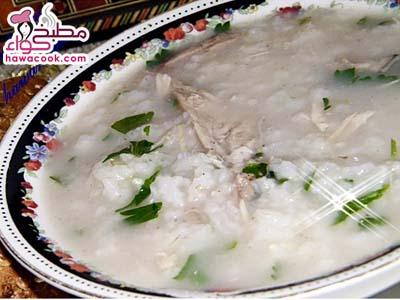 طريقة عمل شوربة الأرز بالدجاج