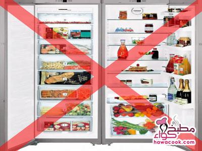أطعمة لا تضعيها في الثلاجة