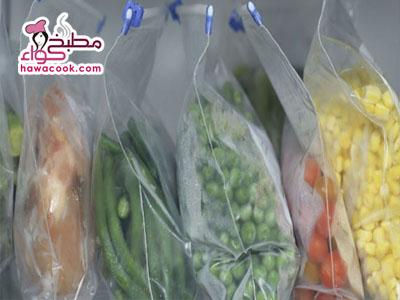 شراء و تخزين الطعام