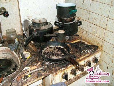 أخطاء شائعة فى المطبخ