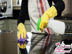 كيفية إزالة الدهون من المطبخ