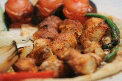 تكة دجاج بالروب